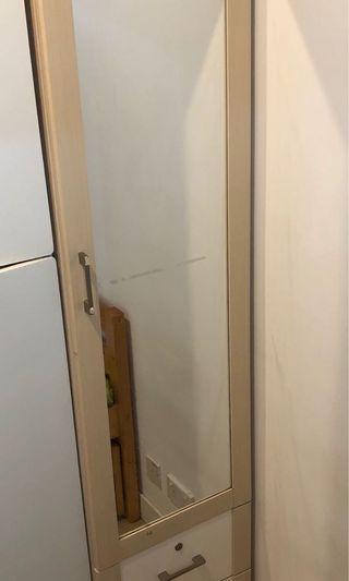 海馬單門衣櫃