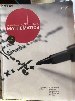 🚚 Additional Mathematics Textbook