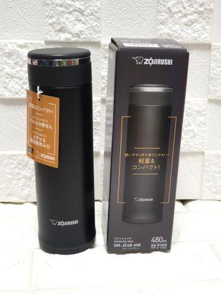 Best Seller: Matt black Mug: Zojiruhi 480ml Beautiful Matt Black Coloured Mug; Excellent Vacuum Insulation; Easy to Clean