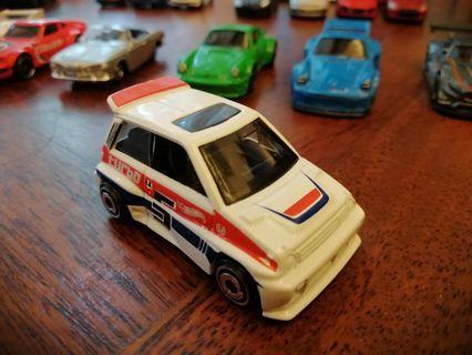 '85 Honda City Turbo IIWhite Red Blue 5 Mattel Hot Wheels Hotwheels Car #MGAG101