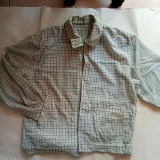 Oversized tartan jacket vintage