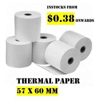 🚚 Cash Register Thermal Paper Roll