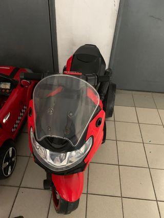 Motorbike chargeable kids motorbike