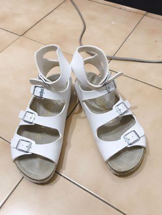 降 勃肯涼鞋 雅典娜 羅馬涼鞋 38