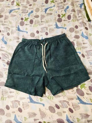 🚚 絨布短褲