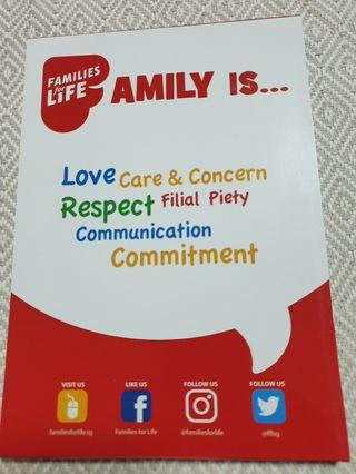 """""""Families for Life"""" Notebook"""