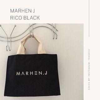 MARHEN J original Rico black tas cewe Korea warna hitam