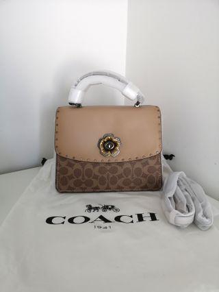 Coach top handle parker bag