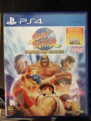 PS4 Street Fighter 30th Anniversary (R3) Ultra Street Fighter 4 DLC Unredeem