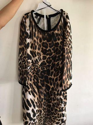 Leopard Dress by MANGO