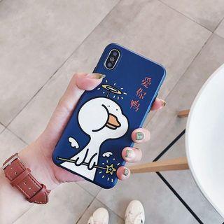 CASE iPhone navy duck iphone x/xs
