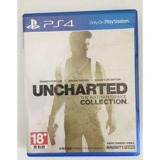 PS4 Uncharted collection 1-3 中文版 秘境探險 合輯