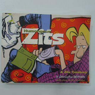 Humongous Zits - A Zits Treasury By Jerry Scott and Jim Borgman