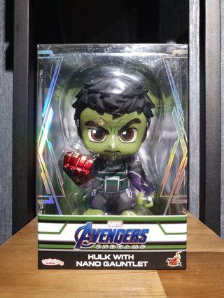Hot Toys Avengers: Endgame Hulk with Nano Gauntlet Cosbaby MISB