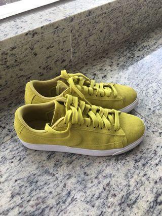 Nike 黃色波鞋 休閒鞋 yellow sneakers