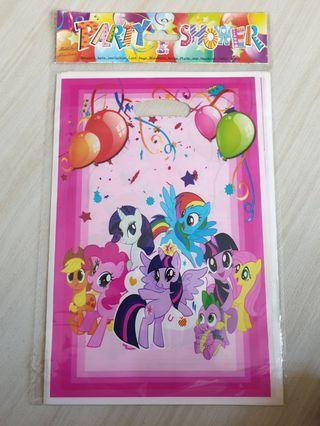 My little pony goodie bags