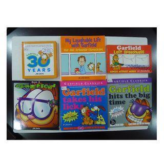 Garfield Classics Comic Books - 6 Books By Jim Davis