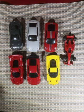 Shell toy cars