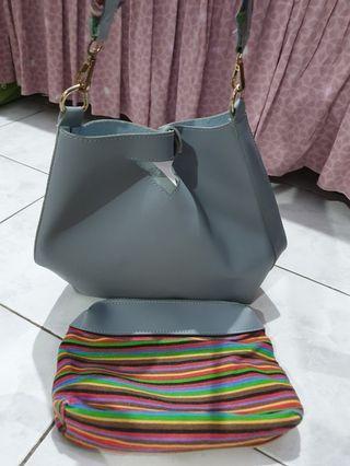Tas Fashion warna biru