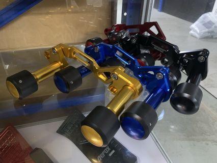 Xmax / Aerox Semspeed New Exhaust Sliders