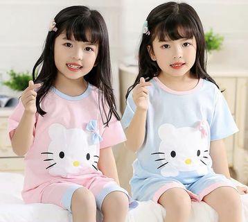 Little Kid House Wear - FDR541  Size: 100cm, 110cm, 120cm, 130cm, 140cm  Design: as attach photo