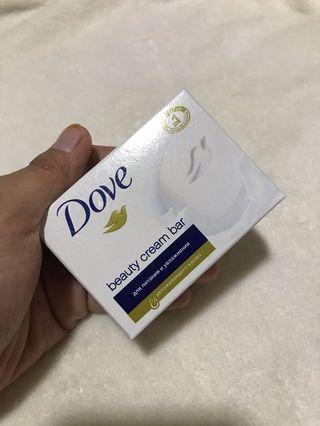 Dove White Beauty Bar Soap 75g (Readystock)