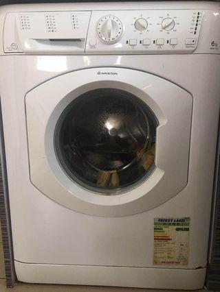 19/6 之前取走,原價3800 HKD 八成新ARISTON 滾筒洗衣機售價300