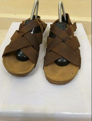 Hush Puppies Leather Sandal