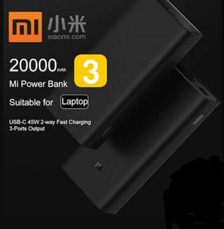 (Courier Delivery) Xiaomi 20000 Gen 3 20000mah Powerbank