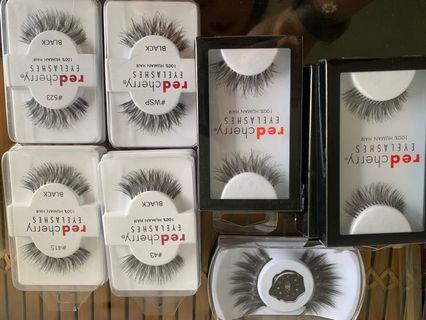 RedCherry 100% Human Hair Eyelashes