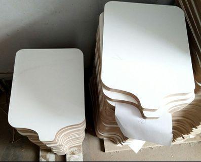 Wooden Platen (no bracket)