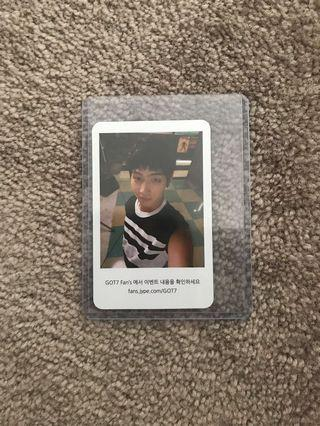 Official JB photo card