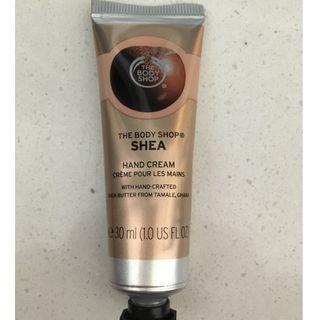 Body shop Shea hand cream - new - 30ml