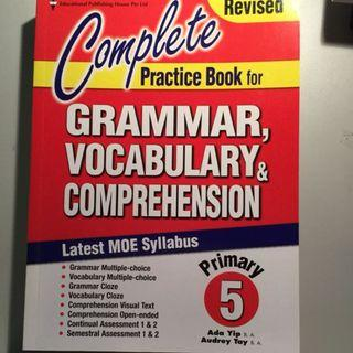 EPH Revised Complete Practice Book for Grammar, Vocabulary & Comprehension Primary 5