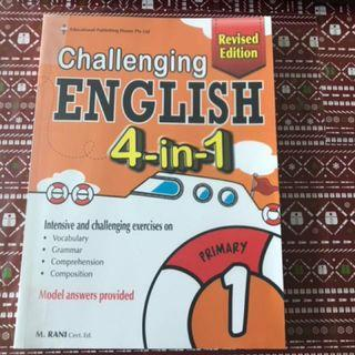 challenging english 4 in 1 pri 5 revised edition