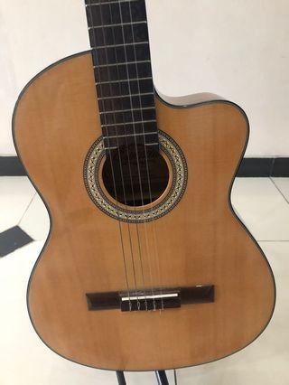 Gitar espanola scg-928ceq/n