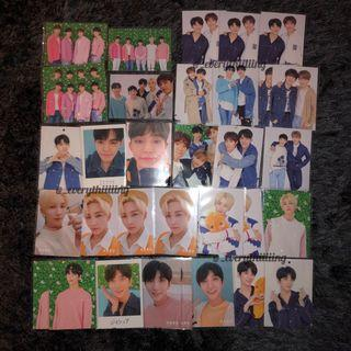 SEVENTEEN HARU TRADING CARDS
