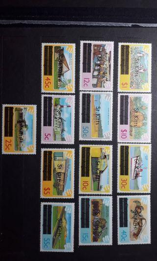 St.Kitts mint stamps