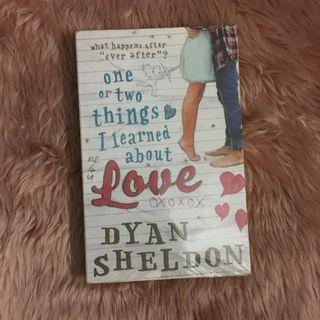 YA BOOK: One or Two Things I Learned About Love by Dyan Sheldon