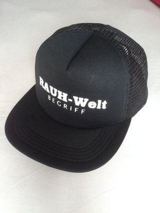RWB RAUH WELT BEGRIFF trucker cap