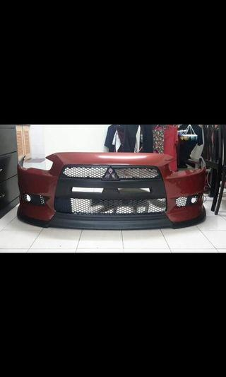 Proton inspira / Mitsubishi Lancer EVO X Bodykit