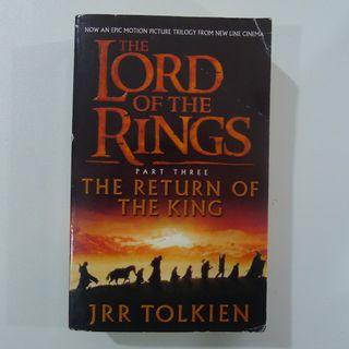 The Lord Of The Rings Part Three - The Return Of The King - By JRR Tolkien