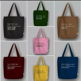 Canvas Totebag Days