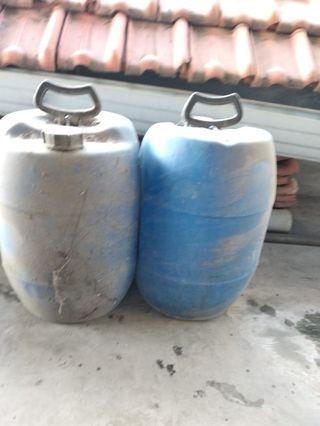 Drum Biru Tampung Air Tandon