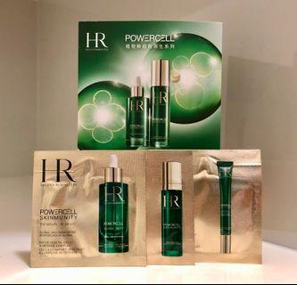 Helena Rubinstein Powercell Skinmunity Series HR 植物幹細胞再生系列試用裝3包