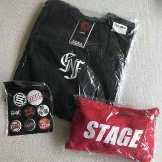 羅志祥 Show lo  Stage GNF SET PACKAGE 無懼組合包 SIZE: S