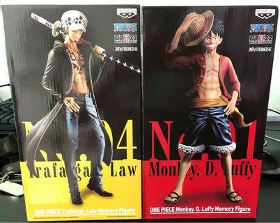 One Piece Memory Figure - Luffy/Law
