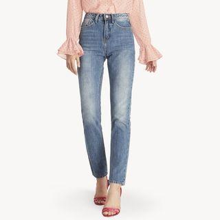 Pomelo Classic Medium Wash Vintage Mom Jeans