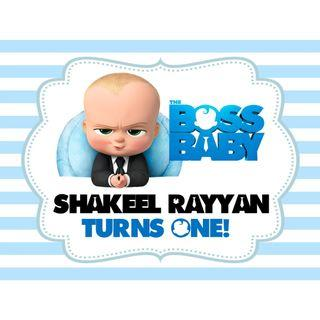 🚚 Table Display Signage - Baby Boss