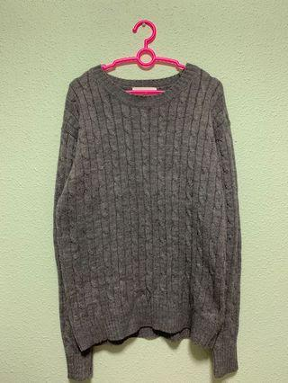 🚚 🔥 Liberty Grey Knitted Sweater